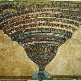 illustration-to-the-divine-comedy-by-dante-alighieri--abyss-of-hell---1480-1490--found-in-the-collection-of-the-biblioteca-apostolica-vaticana--486777773-5c3a03c246e0fb00016261f2